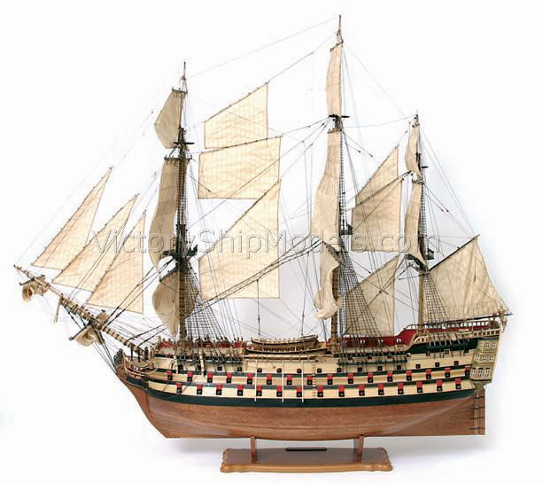 Ship model wooden kit Principe de Asturias Occre (www.victoryshipmodels.com)