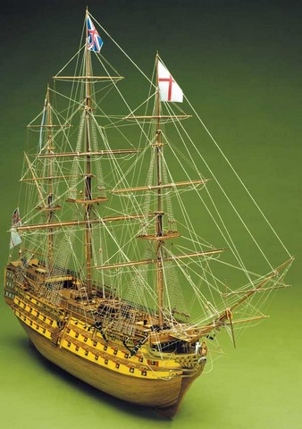 Ship model wooden kit Victory Mantua Sergal (www.victoryshipmodels.com)