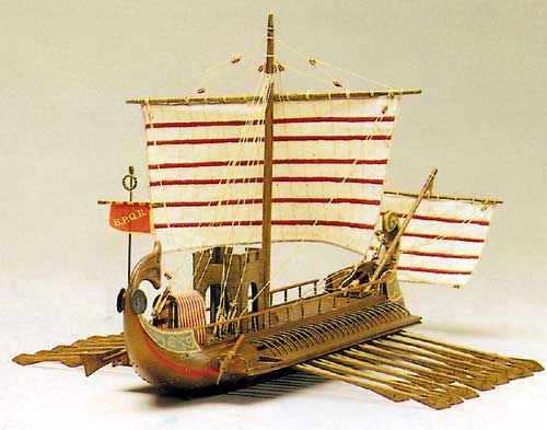 Ship model Caesar, wooden kit Mantua - VictoryShipModels com
