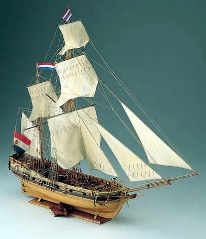 Ship model wooden kit Dolphin Corel (www.victoryshipmodels.com)
