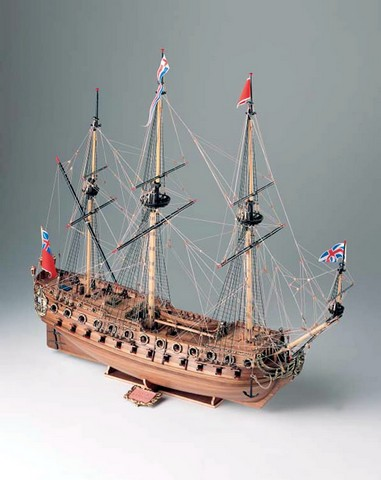 Ship model wooden kit Neptune Corel (www.victoryshipmodels.com)