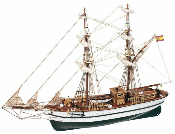BERMUDA TALL SHIP MODEL