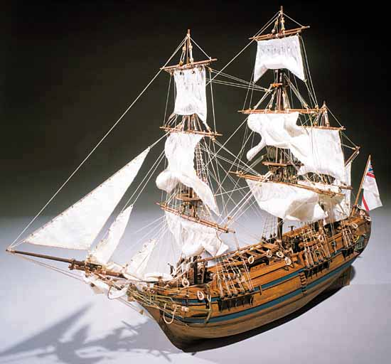 Ship model wooden kit Bounty Mantua Sergal (www.victoryshipmodels.com)