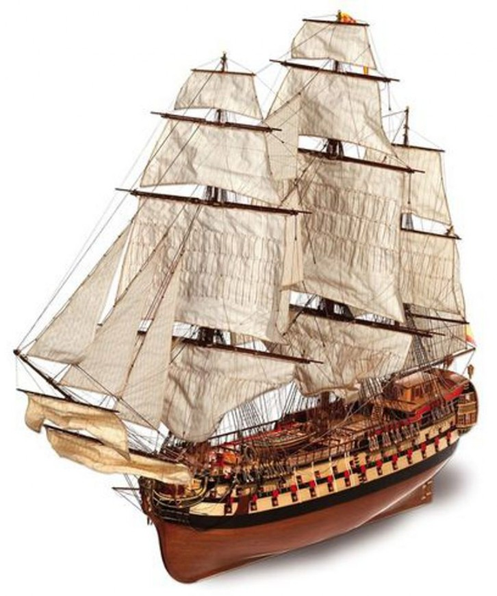 Ship model Montanes, wooden kit Occre (www.victoryshipmodels.com)