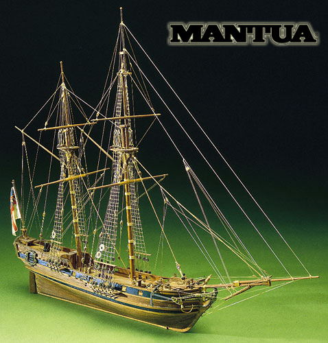 Ship model wooden kit Race Horse Mantua Sergal (www.victoryshipmodels.com)