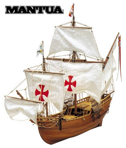 Ship model wooden kit Pinta Mantua Model (www.victoryshipmodels.com)