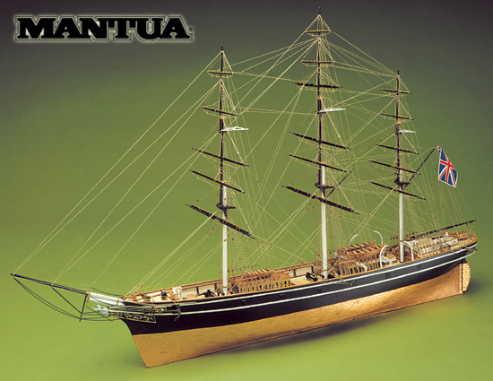 Ship model wooden kit Cutty Sark Mantua Sergal (www.victoryshipmodels.com)