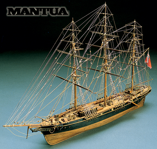 Ship model wooden kit Thermopylae Mantua Sergal (www.victoryshipmodels.com)