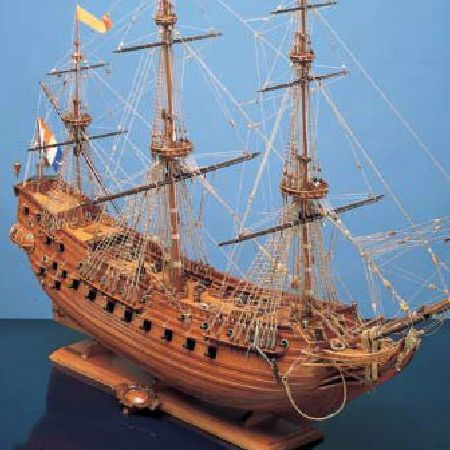 Model ship Prins Willem by Corel – ship and replica  history